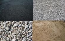 Песок, ПГС, гравий, щебень, супесь
