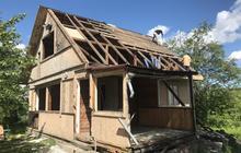 Демонтаж дачных домиков, бань