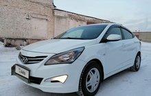 Hyundai Solaris 1.4МТ, 2014, 140000км