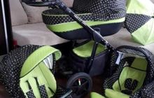 Детская коляска 3в1 verdi pepe eco