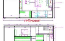 К продаже предлагается большой, полностью КИРПИЧНЫЙ дом площ