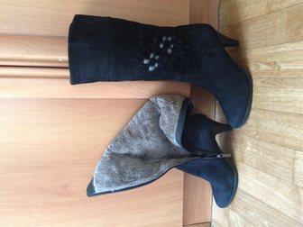 Скачать фотографию Женская одежда Продам женские зимние сапоги 32376432 в Новосибирске