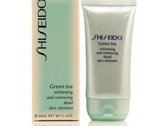Свежее фото Парфюмерия Пилинг Shiseido Green Tea, 60мл 32525399 в Новосибирске