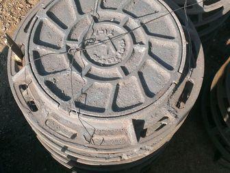 Свежее изображение Строительные материалы Люк канализационный тип Т Гост 3634-99 33115764 в Новосибирске