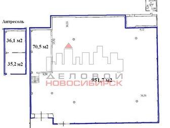 Уникальное изображение  Сдача в аренду склада 1093,5 кв, м * 200 руб, /кв, м 33226120 в Новосибирске