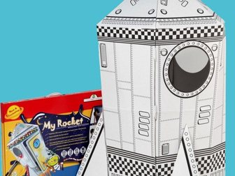 Увидеть фото  Картонный домик для игры и рисования, 33289337 в Новосибирске
