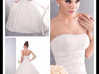 Скачать фото  Свадебное платье б/у 33648536 в Новосибирске