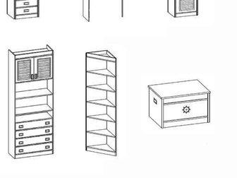 Новое фото Мебель для детей Комплект детской мебели «Галетта» 33740884 в Новосибирске