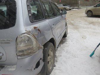 Скачать фото Аварийные авто Продам Хундай Сантафэ 34276381 в Новосибирске