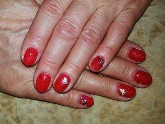 Уникальное изображение  Наращивание ногтей, Шеллак 34524971 в Новосибирске