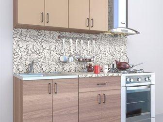 Скачать изображение Кухонная мебель Кухонный гарнитур новый в упаковке с мойкой 34571453 в Новосибирске