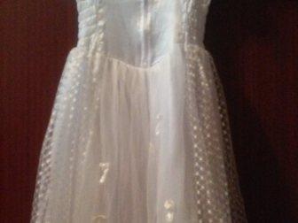 Скачать бесплатно фотографию Детская одежда Нарядное белое платье 35331207 в Новосибирске