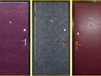 Новое фотографию Двери, окна, балконы Обивка входных дверей дермантином (винилискожей) 36235764 в Новосибирске
