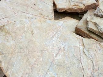 Увидеть изображение  Купить камень плитняк для облицовки, Сланец мраморный в Новосибирске, 36763604 в Новосибирске