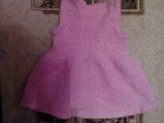 Скачать бесплатно изображение Детская одежда Продам вязанный сарафан на 2-3 годика 36904002 в Новосибирске