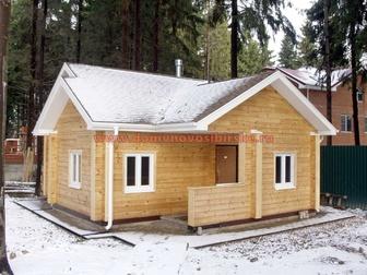 Свежее фото  Построить дом, дачу или баню из строганного или профилированного бруса, 36936674 в Новосибирске