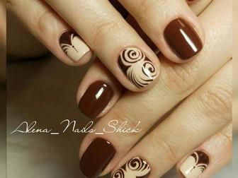 Новое изображение  Наращивание ногтей, покрытие гель-лаком 36941941 в Новосибирске