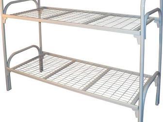 Свежее foto Мебель для спальни Кровати металлические для времянок, Кровати для бюджетных гостиниц, Кроват железные для интернатов 37434210 в Новосибирске