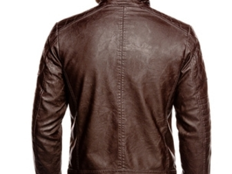 Смотреть фото  Мужская кожаная куртка 37533168 в Новосибирске