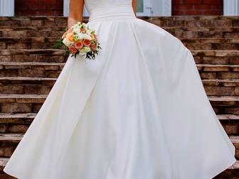 Скачать фото Свадебные платья Продам свадебное платье, Без лишних наворотов, страз и бантиков, 37824883 в Новосибирске