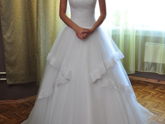 Новое фото  Свадебное платье 38867554 в Новосибирске