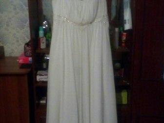 Смотреть фото Свадебные платья Продам свадебное платье,имеется шнуровка,карсет сделан ручной работы,одевалось один раз, в отличном состоянии, 40046116 в Новосибирске