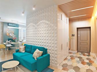 Свежее фото  Индивидуальный дизайн жилых, офисных и коммерческих помещений, 53782849 в Новосибирске
