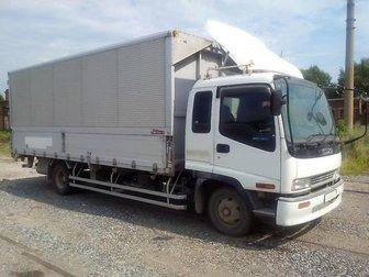 Свежее foto Грузчики Грузоперевозки 5 тонн 28 кубов мебельный фургон 67700711 в Новосибирске