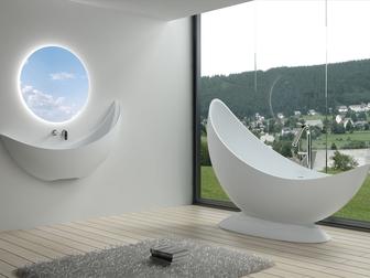 Новое фотографию  Оптовые поставки ванн и раковин из искусственного камня, 67893374 в Новосибирске