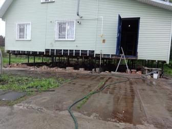 Новое фото  Подниму дом, Ремонт фундамента 69246906 в Новосибирске