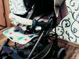 Удобная коляска с дождевикомСостояние: Б/у в Новосибирске