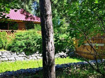 Большой сдвоенный участок, в спокойном месте, около леса,  Прекрасно подойдёт для постоянного проживания, для встречи больших компаний друзей или для расслабленного в Новосибирске