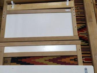 Продам детскую кровать IKEA 160/70 матрас поролон кровать полностью разобрана имеется дополнительный бортик, в Новосибирске