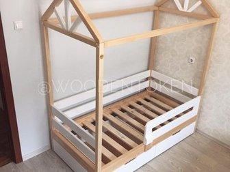 Детские кроватки от  @WOODENTOKEN это: Качественные материалыБезопасные лкп Гарантия Любые размеры Любой цветДовольные клиенты ????Мы изготавливаем кроватки на заказ, в Новосибирске