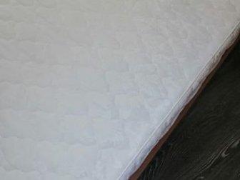 Кровать односпальная Шатура,  Высота спинки 112см, длина кровати 204см, высота кровати 39см (высота с матрасом 50см), ширина кровати 95см, Матрас 90*200см,  Средней в Новосибирске