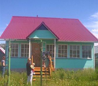 Фото в Недвижимость Продажа домов Балкон, беседка, баня. 100 м. до речки, рядом в Новосибирске 450000