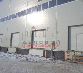 Изображение в   Предлагается в аренду новый теплый склад в Новосибирске 320