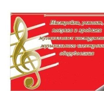 Изображение в Хобби и увлечения Музыка, пение Предлагаем услуги по настройке , ремонту в Новосибирске 2000