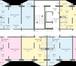 Изображение в   Шестнадцатиэтажный жилой дом расположен по в Новосибирске 1624250