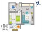 Продается 1 комнатная квартира в ЖК Аленовский парк, располо