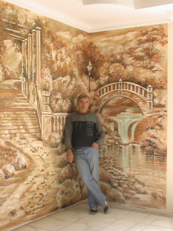 Работа роспись стен художник