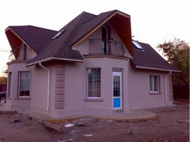 Фасад частного дома фото