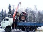 Изображение в Авто Транспорт, грузоперевозки Грузоперевозки на автомобиле КАМАЗ-манипулятор, в Омске 1000