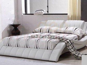 Смотреть фото Производство мебели на заказ Кровать мягкая Кр-010 33012083 в Омске