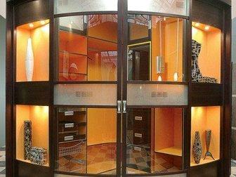 Просмотреть foto Производство мебели на заказ Радиусная гардеробная Orange Lumi 33016176 в Омске