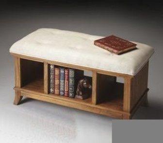 Изображение в Мебель и интерьер Производство мебели на заказ Артикул Пф-080  Пуф с полочками.   Размер в Омске 0