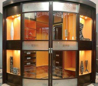 Фотография в Мебель и интерьер Производство мебели на заказ Гардеробная с радиусными створками от мебельной в Омске 0