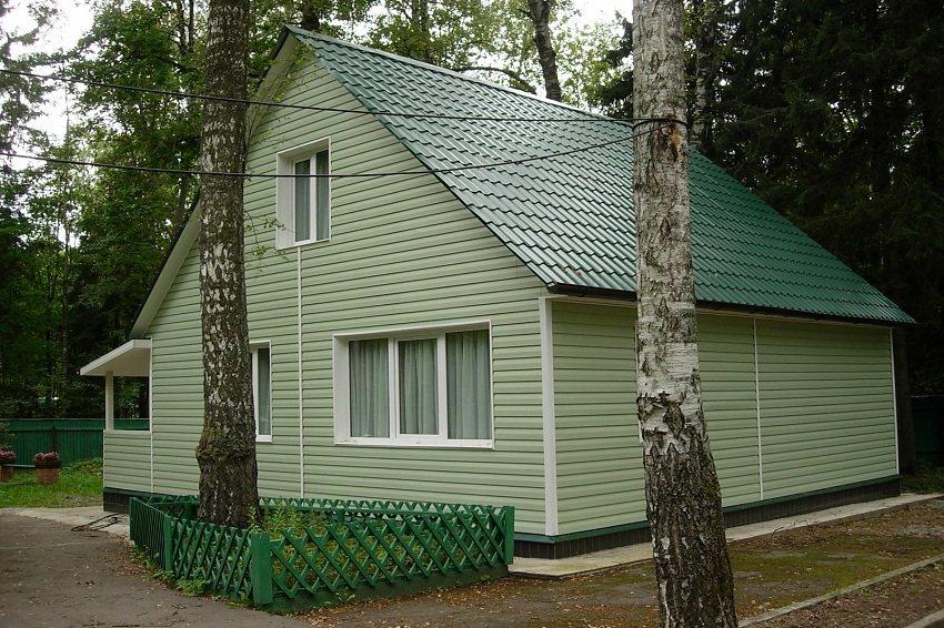 Цвета дачных домов фото