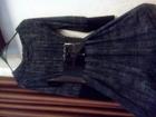 Свежее фото  Платье короткое с эффектным поясом 37806059 в Орле