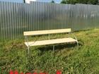 Новое изображение Мебель для дачи и сада Стол, лавочки для дачи, каркас грунт, цинк 39883991 в Орле